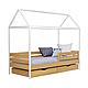 Ліжко дерев'яне Аммі (кровать деревянная), хатка-домик, фото 10