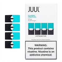 Под картриджи для электронной сигареты Джул (Джул Pods) Classic Menthol/ Ментол 50 Мг