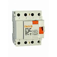Устройство защитного отключения УЗО 1-63 4P 32А Electro ST 687-2