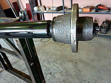 """Балка 140 см ТМ """"""""Зализо"""""""" для прицепа под жигулевское колесо (∅ 48 мм, 1 т, 2101)"""
