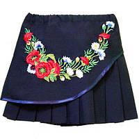 Вышитая юбка для девочки рост 122,128,134