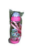 Детская бутылочка  для воды с ремешком
