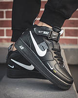 Жіночі кросівки Nike Air Force 1 High, Репліка, фото 1
