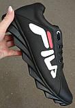 Чоловічі кросівки Fila E! Супер ! 110% Шкіряні! Спортивний міський стиль Філа, фото 6