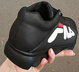 Чоловічі кросівки Fila E! Супер ! 110% Шкіряні! Спортивний міський стиль Філа, фото 7