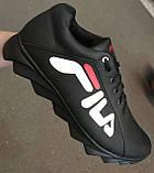 Чоловічі кросівки Fila E! Супер ! 110% Шкіряні! Спортивний міський стиль Філа, фото 4