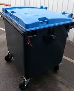 Sulo пластиковий бак для твердих побутових відходів 1,1 м3.