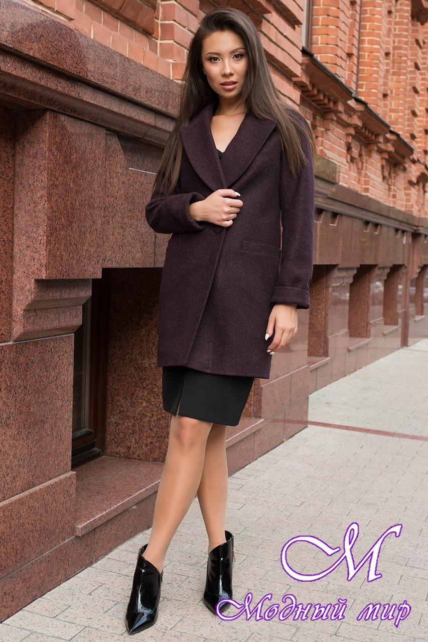 Женское демисезонное пальто из кашемира (р. S, M, L) арт. Вива 7868 - 43788