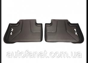 Оригинальные коврики салона BMW X4 (G02) задние (51472451368)