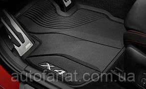 Оригинальные коврики салона BMW X4 (G02) комплект (51472451367 / 51472451368 )