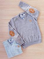 """Пуловер вязаный  для мальчиков  10-15 лет """"Polo"""".Турция. Оптом ."""