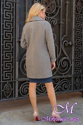 Женское осеннее пальто из кашемира (р. S, M, L) арт. Вива 7868 - 43796, фото 2