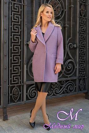 Демисезонное женское пальто из кашемира (р. S, M, L) арт. Вива 7868 - 43797, фото 2