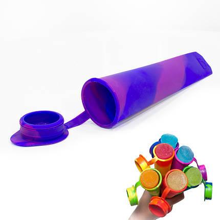 ➨Силиконовая форма CUMENSS N02067 Blue + Purple для мороженого и фруктового льда, фото 2