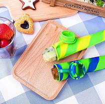 ☜Силиконовая форма CUMENSS N02067 Blue + Green для мороженого и фруктового льда, фото 3
