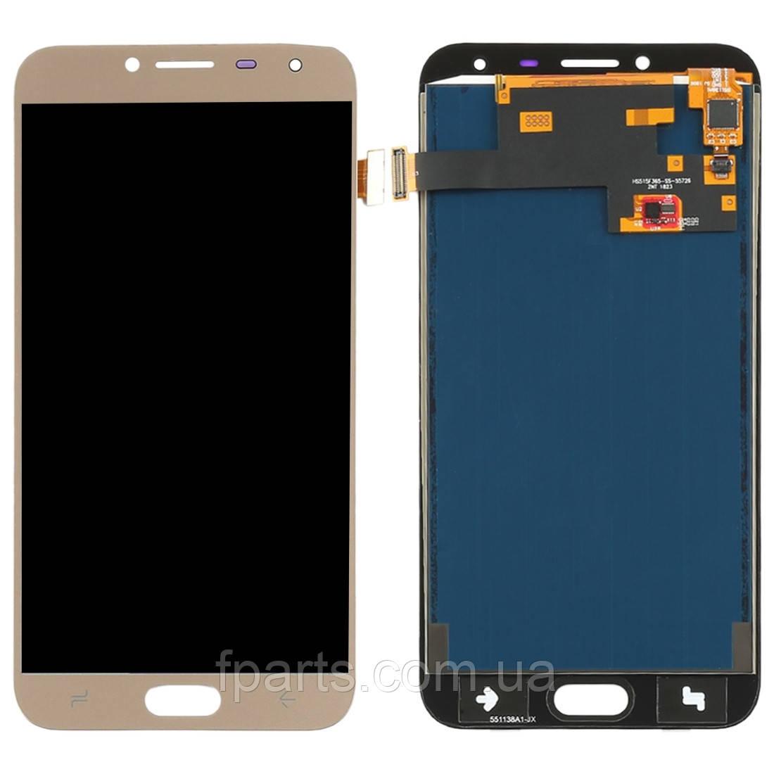 Дисплей для Samsung J400 Galaxy J4 2018 с тачскрином, Gold (TFT)
