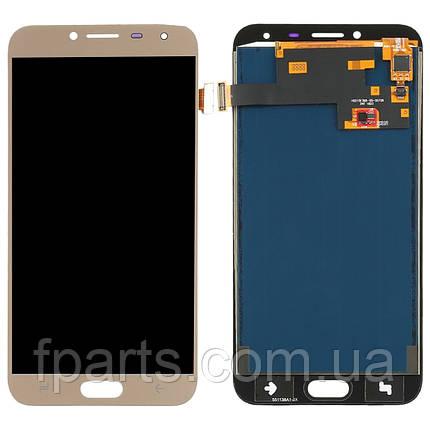 Дисплей для Samsung J400 Galaxy J4 2018 с тачскрином, Gold (TFT), фото 2