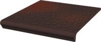 Cloud Rosa, Brown Duro 33 x 33 x 1,1  ступень с капиносом угловая