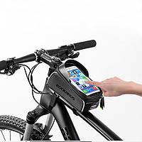 Велосумка для смартфона на раму, вело сумка для телефона RockBros ( код: IBH004B )