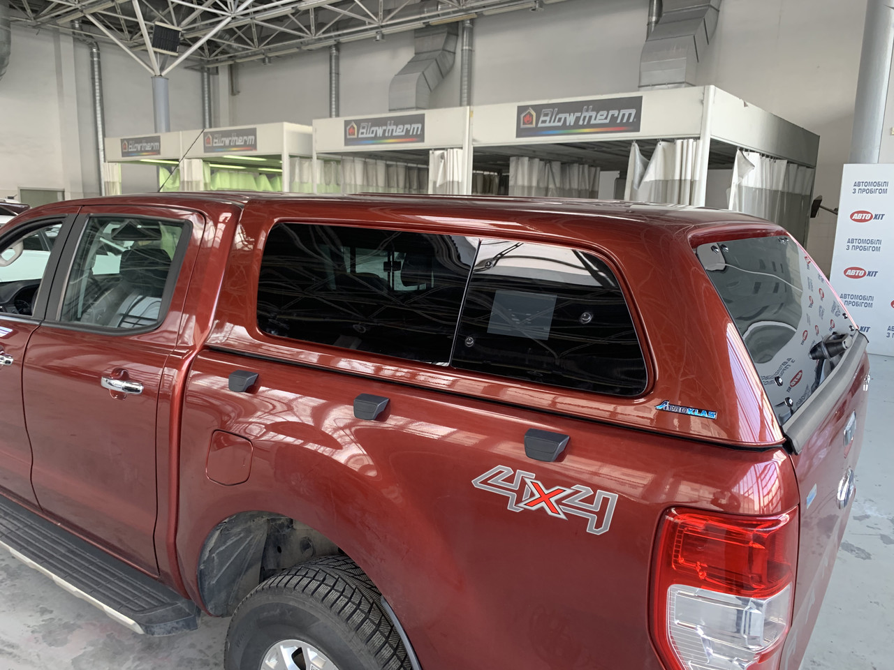 Кунг Ranger hardtop canopy для Ford   2012-2020
