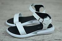 Женские кожаные сандалии, босоножки  (Код: 130м/бел) ► [36,37,38,39,40], фото 1