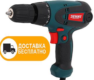Сетевой шуруповерт Зенит ЗШ-600