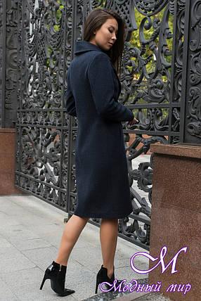 Женское демисезонное пальто до колена (р. S, M, L) арт. Габриэлла 7876 - 43815, фото 2