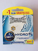 Кассеты Schick Wilkinson Sword  Hydro 5 4 + 1 шт. (Шик гидро 5 5 шт.)