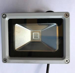 Светодиодный прожектор SL-10 10W зеленый IP65 Код.59314, фото 2