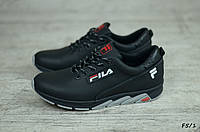 Детские кожаные кроссовки Fila (Реплика) (Реплика) (Код: F5/1  ) ►Размеры [36, 37, 38, 39], фото 1