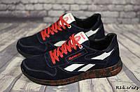 Мужские замшевые кроссовки Reebok (Реплика) (Код: R16 с/к/з     ) ► Размеры [40,41,42,43,44,45], фото 1