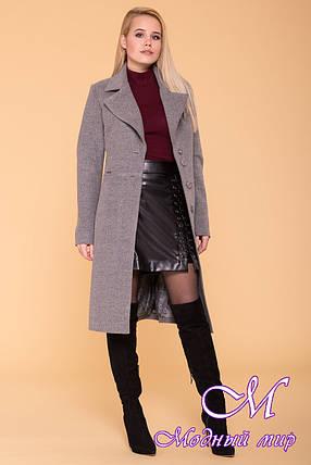 Женское осеннее пальто до колена (р. S, M, L) арт. Габриэлла 7876 - 43819, фото 2