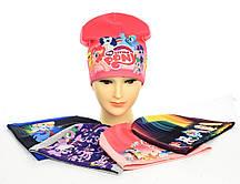 """Трикотажні шапки для дівчинки """"Little Pony"""""""