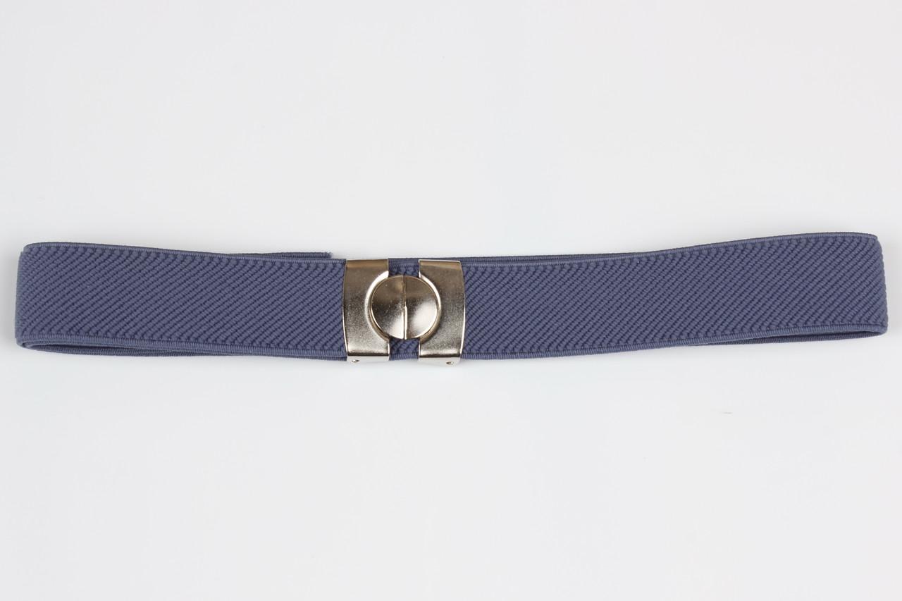 Ремень детский резинка P8 Top Gal светлый джинс цвета в ассортименте