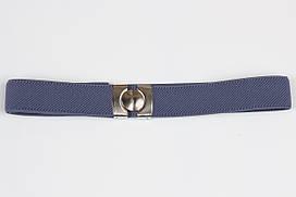 Ремінь дитячий гумка P8 Top Gal джинс світлий кольори в асортименті