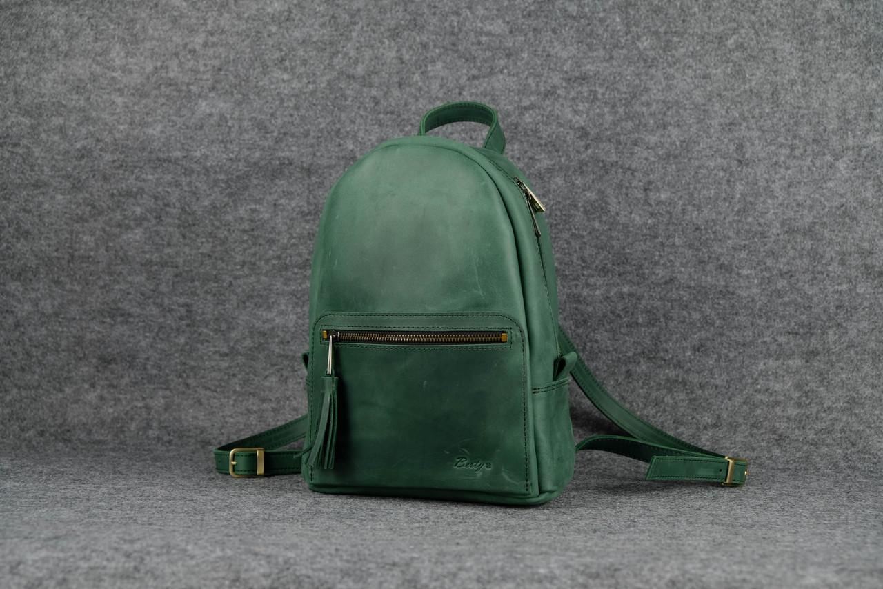 Рюкзак Лимбо, размер мини Винтажная кожа цвет Зеленый