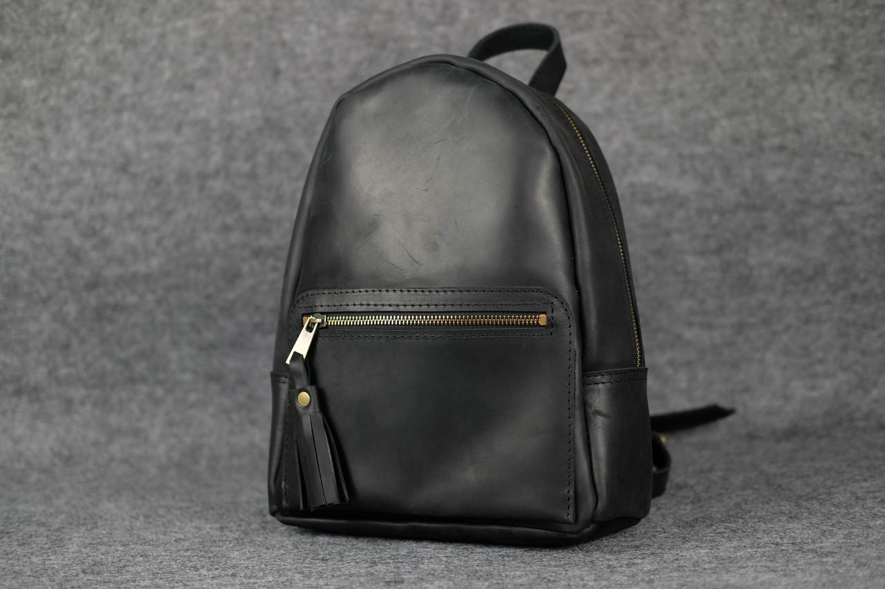 Рюкзак Лимбо, размер мини Винтажная кожа цвет Черный