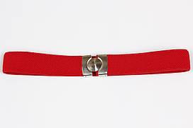 Ремінь дитячий гумка P8 Top Gal червоний кольори в асортименті