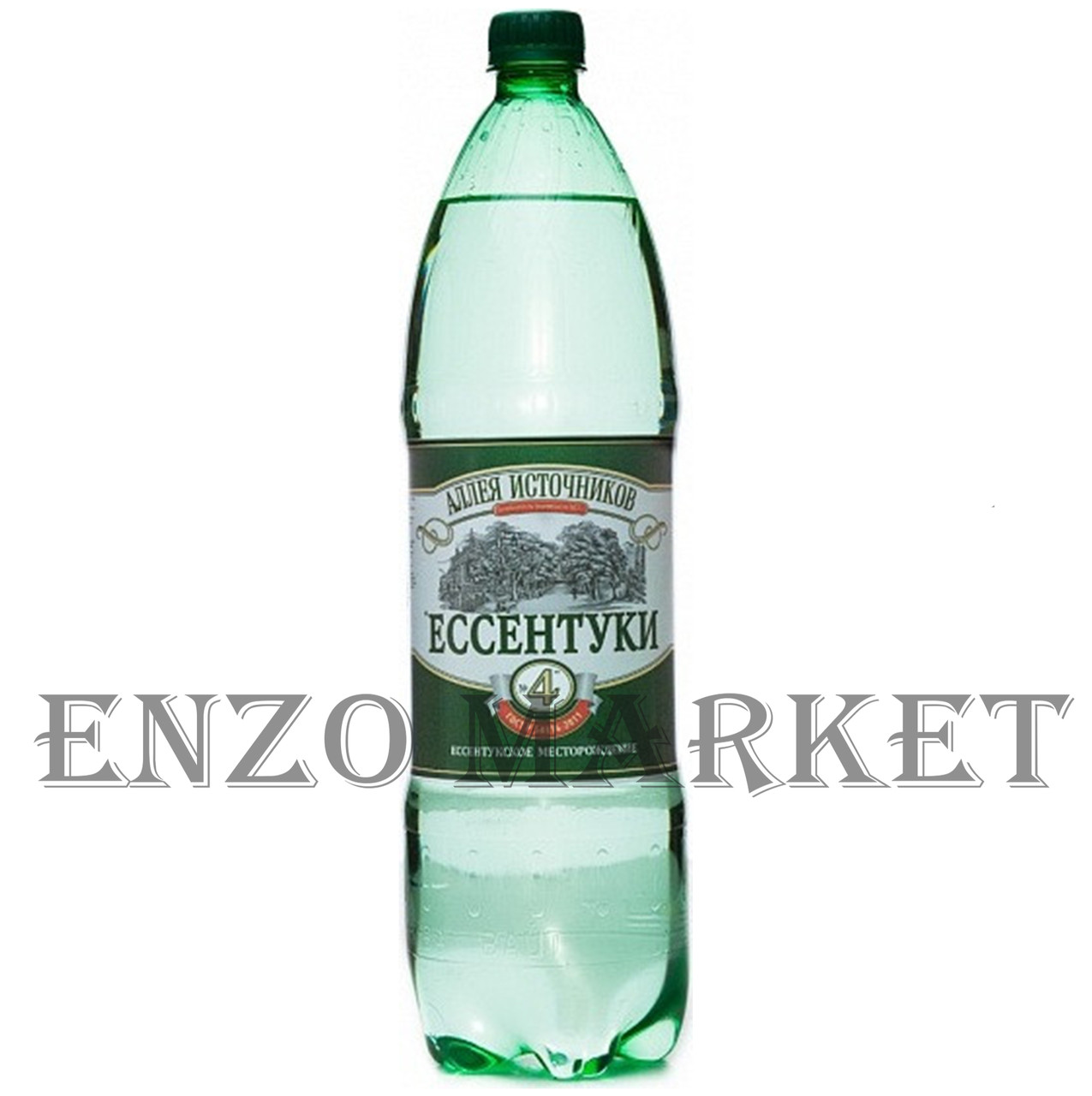 Вода Минеральная Аллея источников Ессентуки №4, 1,5 литра