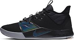 Мужские кроссовки Nike PG 3 Black Iridescent AO2607-003, Найк ПГ 3