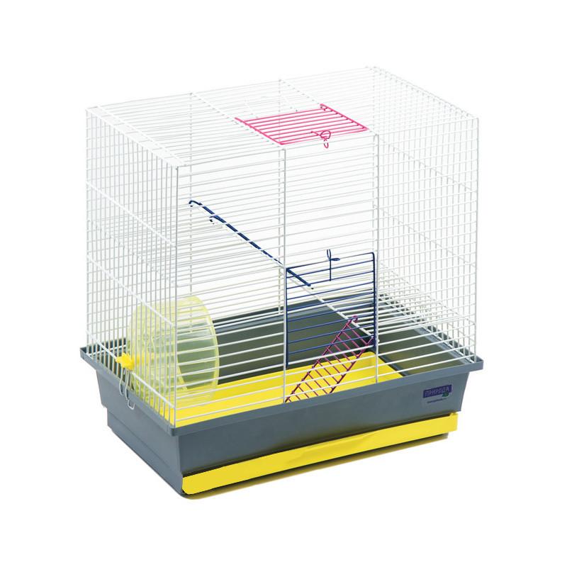 Клетка для грызунов Гоша с колесом