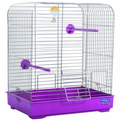 Клетка для птиц Белла хром