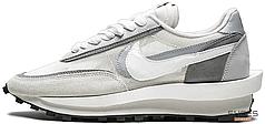 Женские кроссовки Nike LD Waffle Sacai Wolf Grey BV0073-100, Найк ЛД