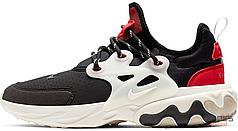 Мужские кроссовки Nike React Presto Black Phantom Red AV2605-002, Найк Реакт Престо