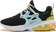 Женские кроссовки Nike React Presto Black Teal Tint Cyber (W) CJ0554-001, Найк Реакт Престо