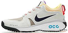 Мужские кроссовки Nike ACG Dog Mountain Summit White Black Laser Orange AQ0916-100, Найк ACG