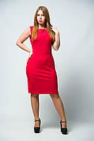 Платье женское футляр без рукавов от бренда Adele Leroy