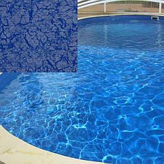 Лайнер для бассейна Elbeblau Blue Pearl (синий перламутр) усиленный