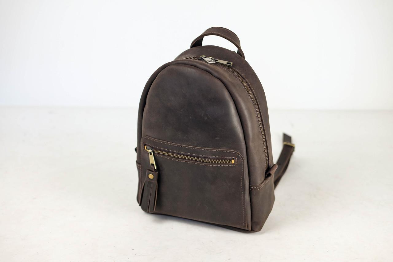 Рюкзак Лимбо, размер средний Винтажная кожа цвет Шоколад