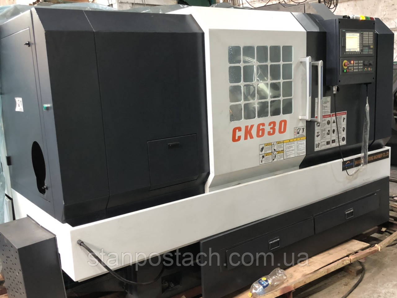 Токарный станок с ЧПУ по металлу TCK 630 - 2019 года